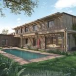 Construction d'une maison en bois à Anglet Chiberta