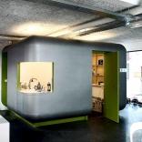 Aménagement d'un pôle cuisine et reprographie pour un cabinet d'architecte